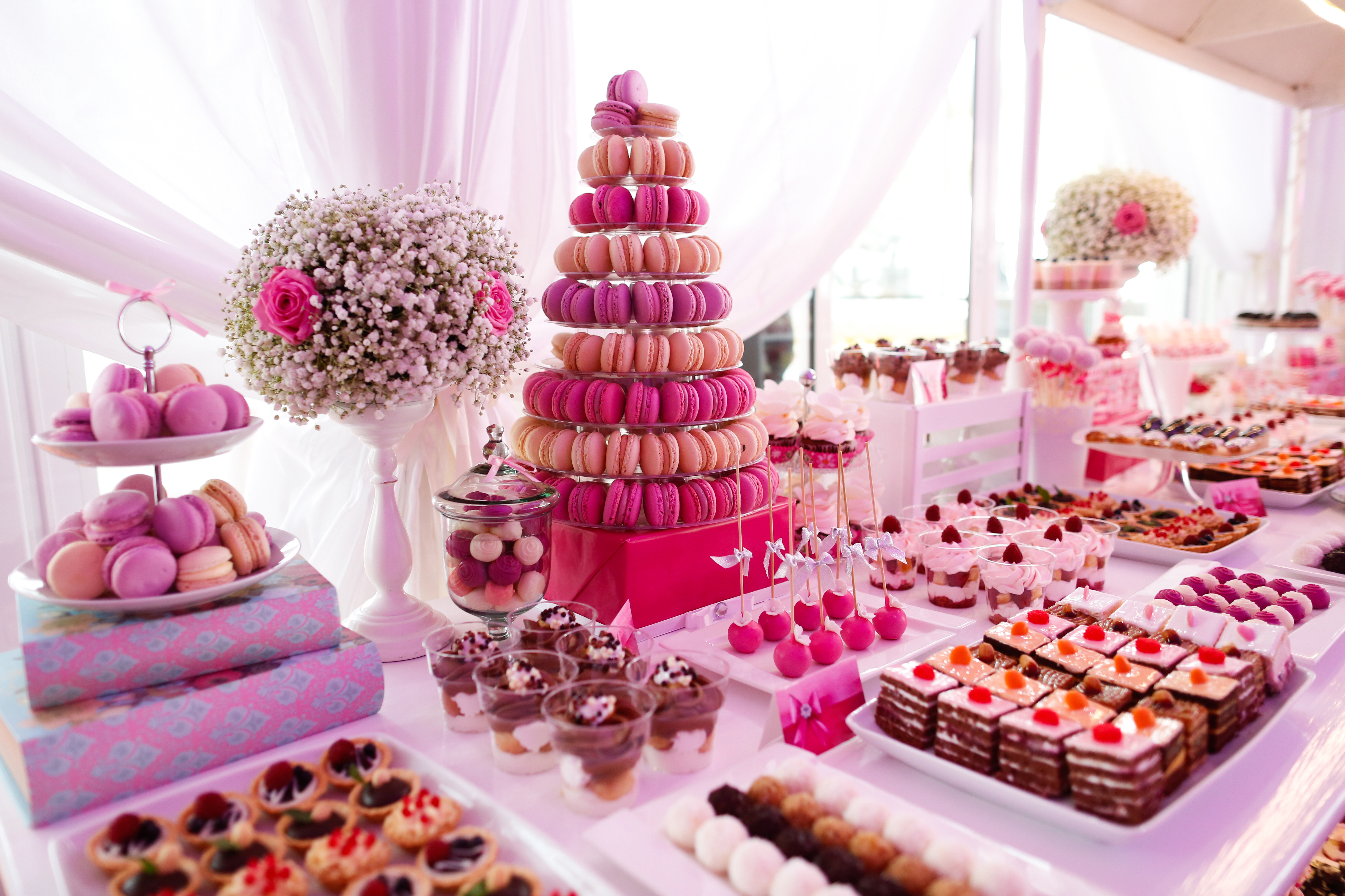 15 wedding dessert table ideas
